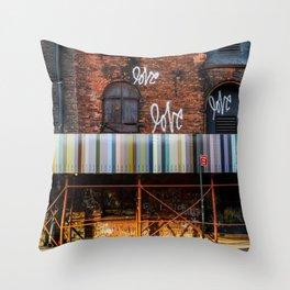 Morning Love - Brooklyn NY Throw Pillow