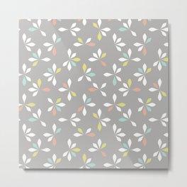 loves me loves me not pattern - pastel Metal Print
