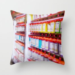 Pantone Pods Throw Pillow