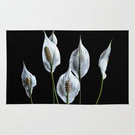 Peace Lilies Rug