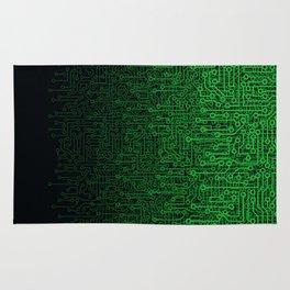 Reboot II GREEN Rug