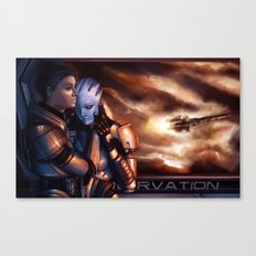 Mass Effect - Memories Canvas Print