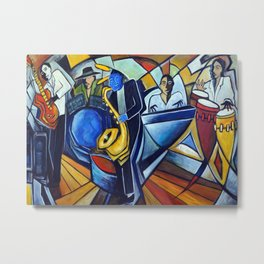 The Jam Session Metal Print