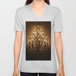 chandelier Unisex V-Neck