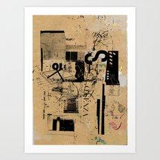 misprint 42 Art Print
