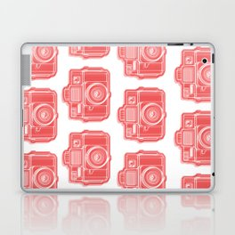 I Still Shoot Film Holga Logo - Red Laptop & iPad Skin