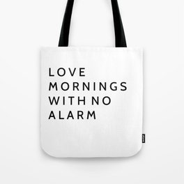 Bedroom decor Tote Bag