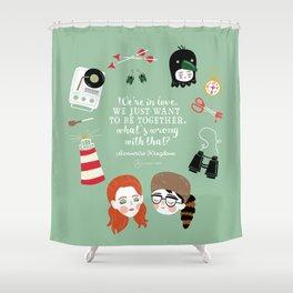 Moonrise Kingdom Shower Curtain