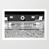 pool Art Prints featuring Pool by Katie Jean Images