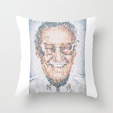 Stan Lee. Throw Pillow