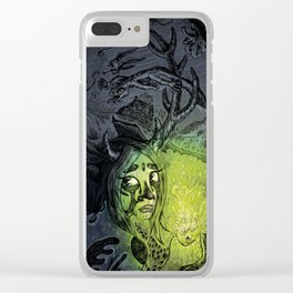The pan girl Clear iPhone Case