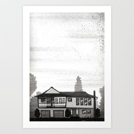 Places I've Lived Series - 1 Art Print