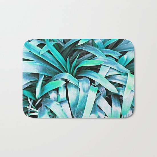 Leaves #society6 #buyart #decor Bath Mat