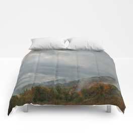 Dolly Sods Mountain Fog Comforters
