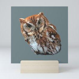 Cute Little Owl Mini Art Print