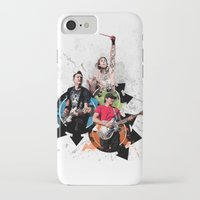 blink 182 iPhone & iPod Cases featuring Blink-182 - Tom Delonge, Mark Hoppus, Travis Barker by amy.