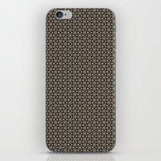 Brown Gold Elegant Pattern iPhone & iPod Skin