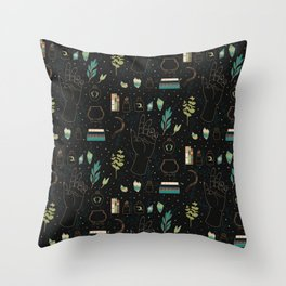 Earth Witch Starter Kit Throw Pillow