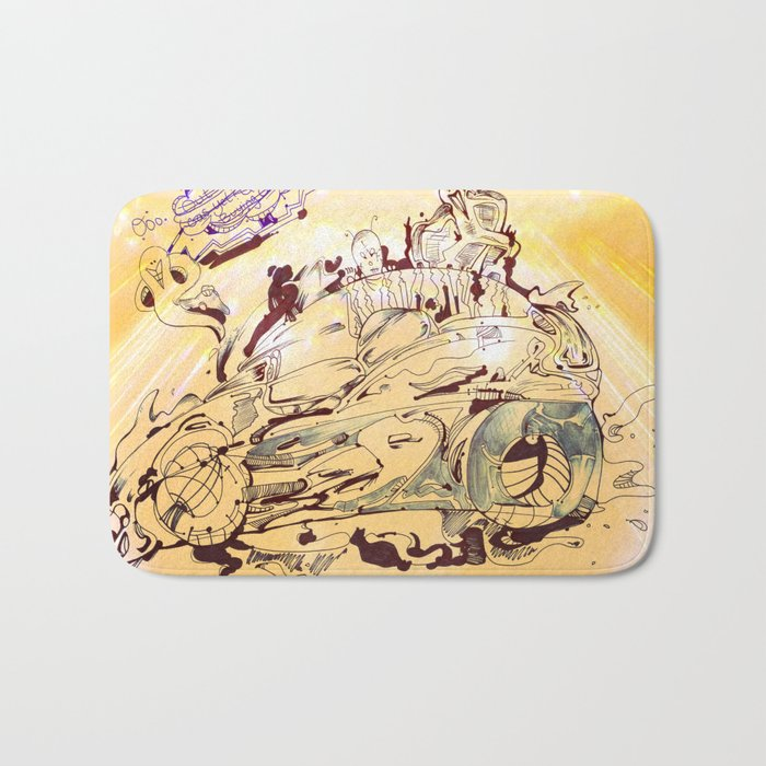 Tired of War yet? Try Electric! :D Bath Mat