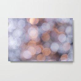 Blurred Soft Lights Metal Print
