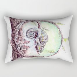 My mother is a chameleon Rectangular Pillow
