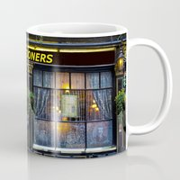 arsenal Mugs featuring The Gooners by David Pyatt
