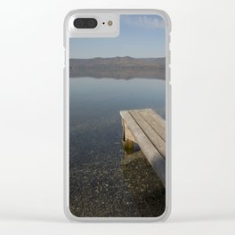 Autumn morning Clear iPhone Case