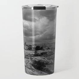 Clouds over the Pacific Crest Trail Travel Mug