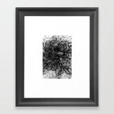 Spinning Roses Framed Art Print