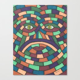 Face In The Croud Canvas Print