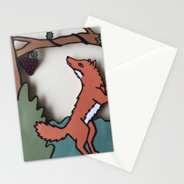The Fox & The Grapes Stationery Cards