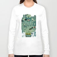 ghostbusters Long Sleeve T-shirts featuring Ghostbusters by Ale Giorgini