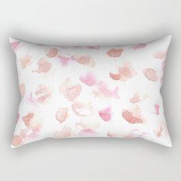 180515 Abstract Watercolour Wp 5  Watercolor Brush Strokes Rectangular Pillow