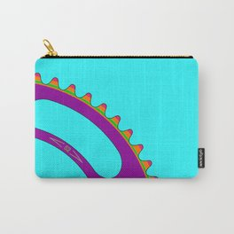 Psychedeli-Cat Chainring Carry-All Pouch