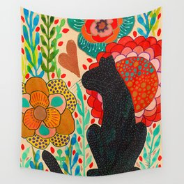 Sometimes My Love Is A Wild Thing Wall Tapestry