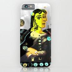 Mona Dora Lisa Maar Collage 2 StreetArt iPhone 6s Slim Case
