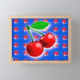 Pop a Cherry Framed Mini Art Print