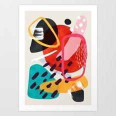 Mikah Art Print
