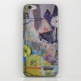 Flower Montage iPhone Skin