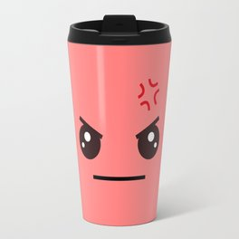 ANGRY! Kawaii Face (Check Out The Mugs!) Travel Mug
