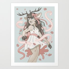ribbons Art Print