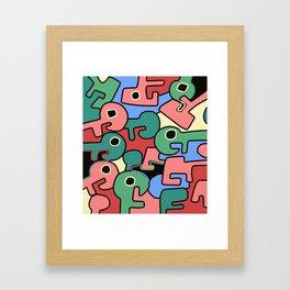 Jak Framed Art Print