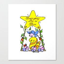 """Star Time"" Canvas Print"