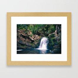 TMP Waterfall Framed Art Print