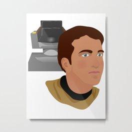 The Elder Kirk Metal Print