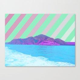寂しい島 /// Lonely Island Canvas Print