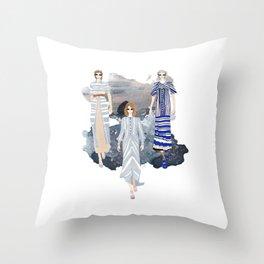 Fashionary - Blues Throw Pillow
