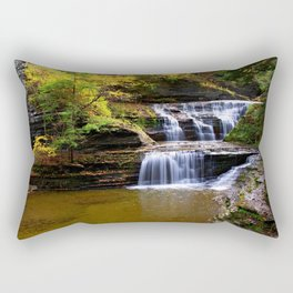 Cascata in autunno Rectangular Pillow
