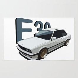 Awsome E30 Car Rug