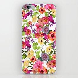 Zariya Flower Garden iPhone Skin
